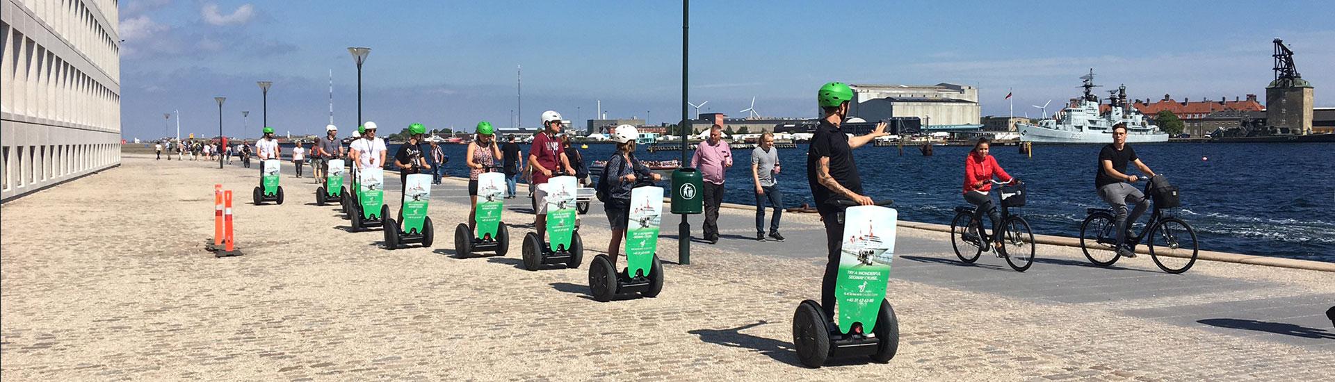 Lej en Segway hos Segway Cruise København
